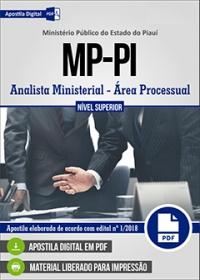 Analista Ministerial - Área Processual - Ministério Público - PI
