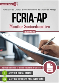 Monitor Socioeducativo - FCRIA-AP