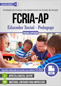 Educador Social - Pedagogo - FCRIA-AP