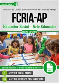 Educador Social - Arte Educador - FCRIA-AP