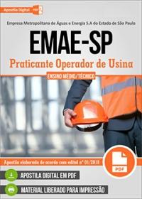 Praticante Operador de Usina - EMAE-SP