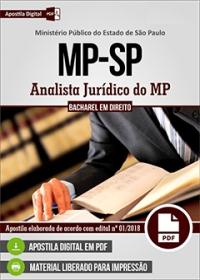 Analista Jurídico do MP - Ministério Público - SP