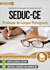 Professor de Língua Portuguesa - SEDUC-CE