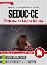 Professor de Língua Inglesa - SEDUC-CE