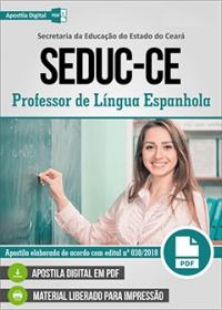 Professor de Língua Espanhola - SEDUC-CE