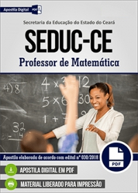 Professor de Matemática - SEDUC-CE