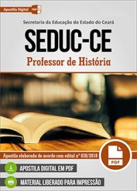 Professor de História - SEDUC-CE