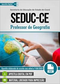 Professor de Geografia - SEDUC-CE