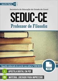 Professor de Filosofia - SEDUC-CE