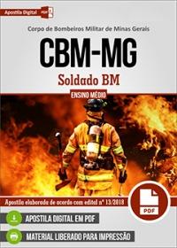 Soldado BM - Corpo de Bombeiros - MG
