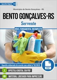 Servente - Prefeitura de Bento Gonçalves - RS