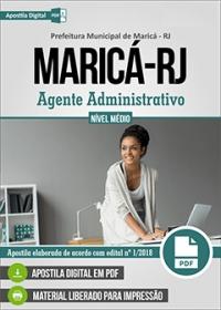 Agente Administrativo - Prefeitura de Maricá - RJ