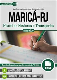 Fiscal de Posturas e Transportes - Prefeitura de Maricá - RJ