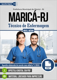 Técnico de Enfermagem - Prefeitura de Maricá - RJ
