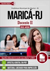 Docente II - Prefeitura de Maricá - RJ