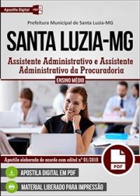 Assistente Administrativo - Prefeitura de Santa Luzia - MG
