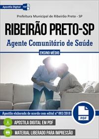 Agente Comunitário de Saúde - Prefeitura de Ribeirão Preto - SP