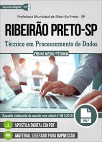 Técnico em Processamento de Dados - Prefeitura de Ribeirão Preto - SP