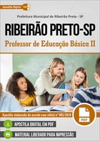 Professor de Educação Básica II - Prefeitura de Ribeirão Preto - SP