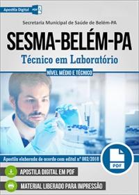 Técnico em Laboratório - SESMA-Belém-PA