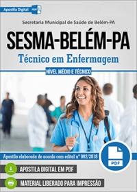 Técnico em Enfermagem - SESMA-Belém-PA