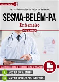 Enfermeiro - SESMA-Belém-PA