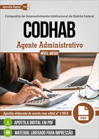 Agente Administrativo - CODHAB