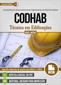 Técnico em Edificações - CODHAB
