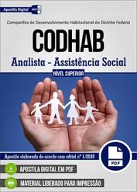 Analista - Assistência Social - CODHAB