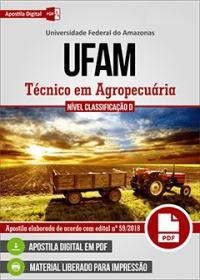 Técnico em Agropecuária - UFAM
