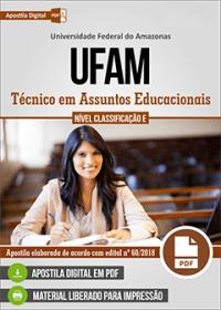 Técnico em Assuntos Educacionais - UFAM