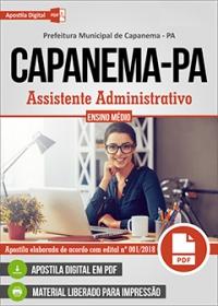Assistente Administrativo - Prefeitura de Capanema - PA