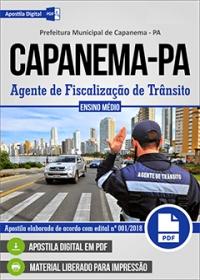 Agente de Fiscalização de Transito - Prefeitura de Capanema - PA