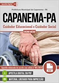 Cuidador Educacional e Cuidador Social - Prefeitura de Capanema - PA