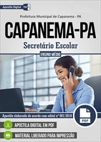 Secretário Escolar - Prefeitura de Capanema - PA