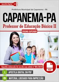 Professor de Educação Básica II - Prefeitura de Capanema - PA