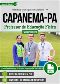 Professor de Educação Física - Prefeitura de Capanema - PA