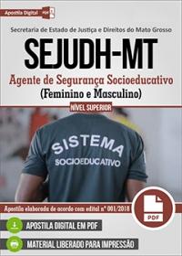 Agente de Segurança Socioeducativo - SEJUDH-MT