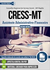 Assistente Administrativo-Financeiro - CRESS-MT