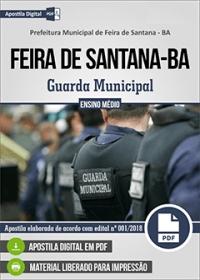 Guarda Municipal - Prefeitura de Feira de Santana - BA