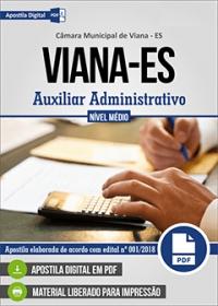 Auxiliar Administrativo - Câmara de Viana - ES