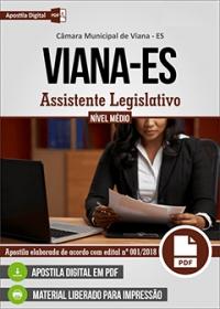 Assistente Legislativo - Câmara de Viana - ES