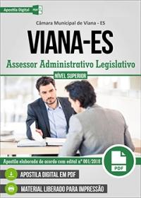 Assessor Administrativo Legislativo - Câmara de Viana - ES