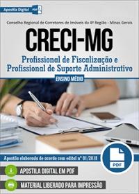 Profissional de Fiscalização - CRECI-MG