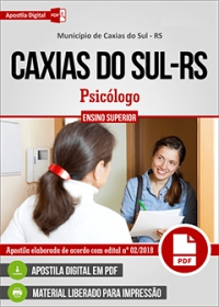 Psicólogo - Prefeitura de Caxias do Sul - RS