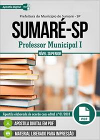 Professor Municipal I - Prefeitura de Sumaré - SP