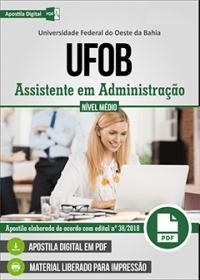 Assistente em Administração - UFOB