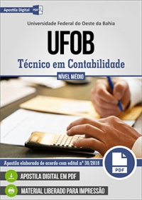 Técnico em Contabilidade - UFOB