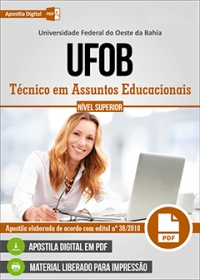 Técnico em Assuntos Educacionais - UFOB