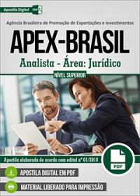 Analista - Área: Jurídico - APEX-BRASIL